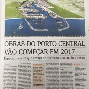 A Gazeta - Licença do Porto Central - 07.07.2016